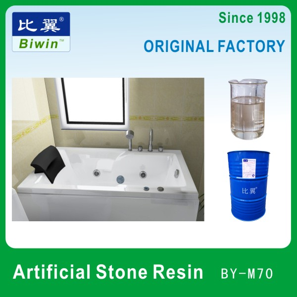 Factory Fast Delivery Liquid Unsaturated Polyester Resin Price for Artificial Marble Bathtub