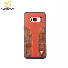 Promotions 3in1leather tpu pu texture leather 5.7 inch mobile phone case for samsung galaxy s8