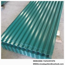 SGHC corrugated metal roofing sheet with 30 shapes