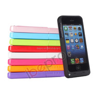 MFI Extended Battery Case for iPhone 5 with 2200mAh Capacity