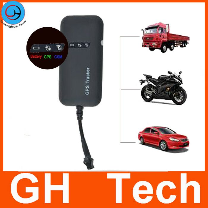 GH 9V 12V 24V 48V real time google map mobile tracking devices for cars with Remote Fuel Engine Control