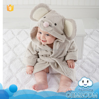 New products 2015 innovative product china suppliers animal baby clothes soft cheap robes good sleepwear