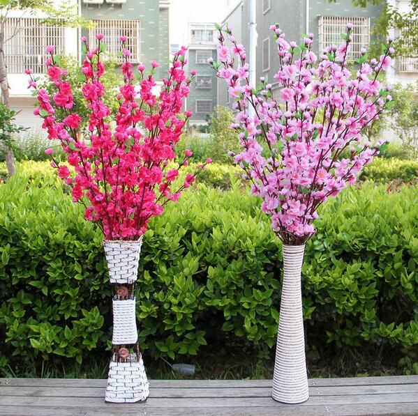 Artificial Flowers Cherry Blossom Collection Acrylic Hypermarket