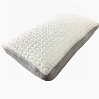 Waterproof Cooling Pillow Memory Foam for Sleeping Bed with Adjustable 4D Design Hypoallergenic Washable Removable Cover