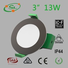 13W LPF round fire rated plate au smd led downlight