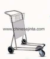 airport easy pushing shopping trolley cart