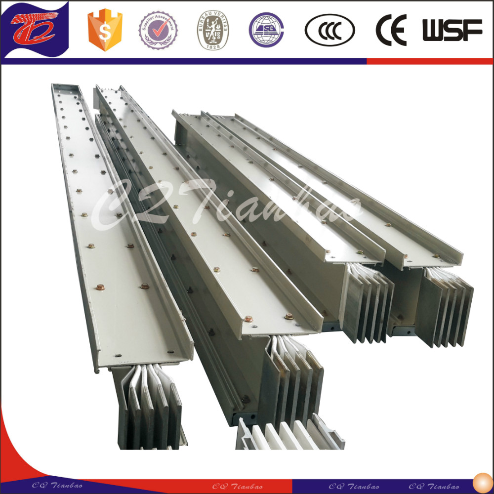 sandiwich safety type supply electrical aluminum Busbar system