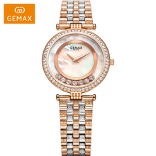 2017 attractive amazing women diamond bracelet watch