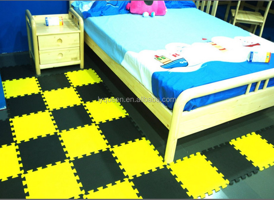 60x60cm Colourful Rubber Eva Sheet Joint Baby Foam Play