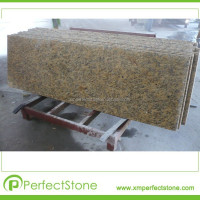 Santa Cecilia granite counter top Brazil gold granite kitchen countertop