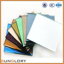Sheets of Wall Mirrors , 2.7mm 3mm 4mm 5mm 6mm Colored Mirror Glass Sheet