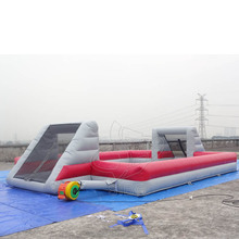 High quality certificated inflatable football court