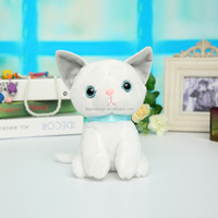 High quality funny lovely plush cat toys
