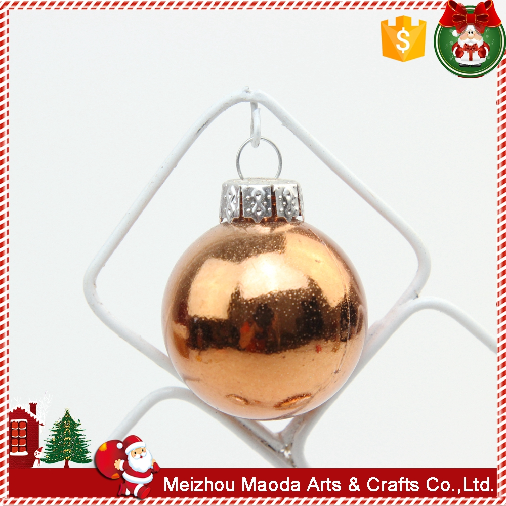 Factory clearance sale iron crafts ball christmas ornament