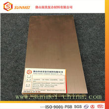 Sound Absorbing Fire-proof Construction Materials aluminum honeycomb core sandwich panel