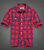 men's new fashion design flannel casual shirt with pockets