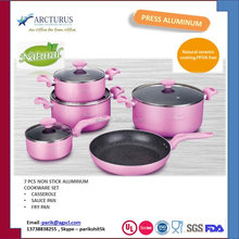 2016 PINK COOKWARE WITH XYLON NONSTICK COATING