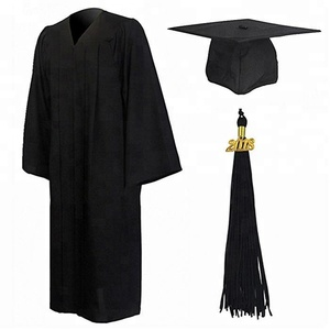 Middle School customized Graduation Gowns&caps With Tassel