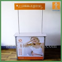 Make up Advertising Exhibition Counter
