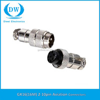 GX16 Aviation Plug 7-Pin 16mm Male and Female Panel Metal Connector