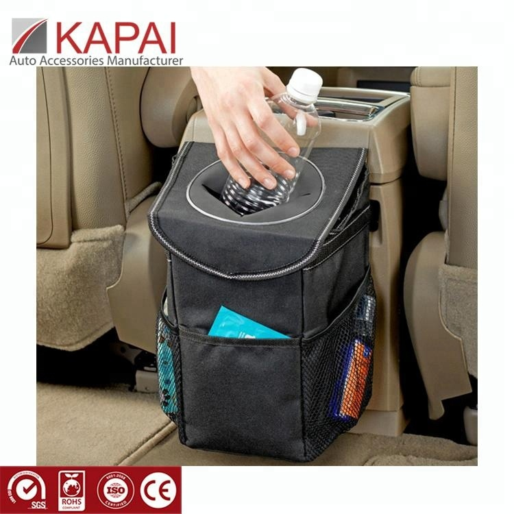 Passenger Use Smaller Handy Hang Seat None Smell Bags Front Seat Grocery Adjustable Container Car Trash Can
