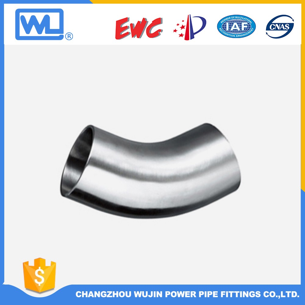 Stainless Steel Tube Fittings Elbow Asme B16.9