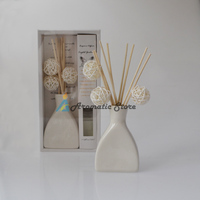 handmade sola flower reed diffuser