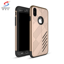 Top selling phone case for iphone 8,for i phone 8 bulk phone cases cover tpu pc gold