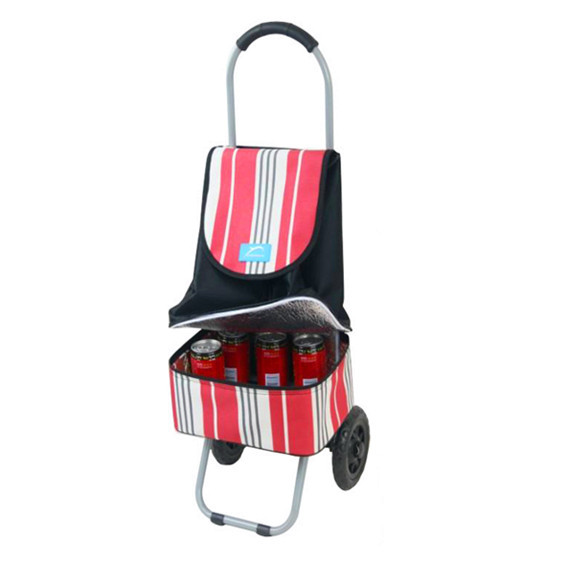 YY-26D10 Cooler box hand carts shopping trolley cooler bag