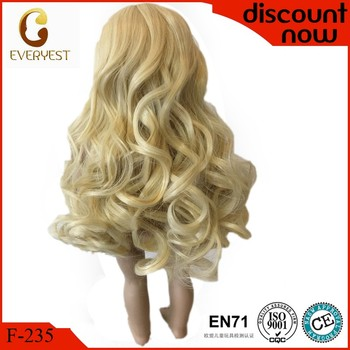 Customize handmade blown doll wigs oem doll wig for sale