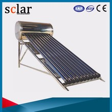 150L high quality portable solar system compact pressurized solar water heater