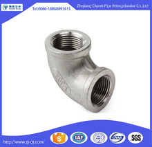 High Quality Stainless Steel 90 degree Female Thread Pipe Fitting Elbow