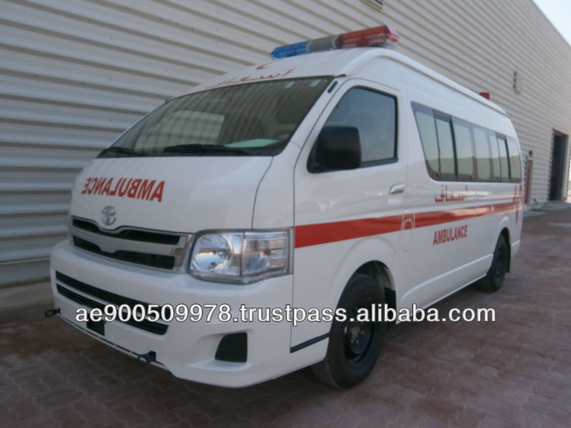 Toyota Hiace Ambulance new & used $ 25,000.00