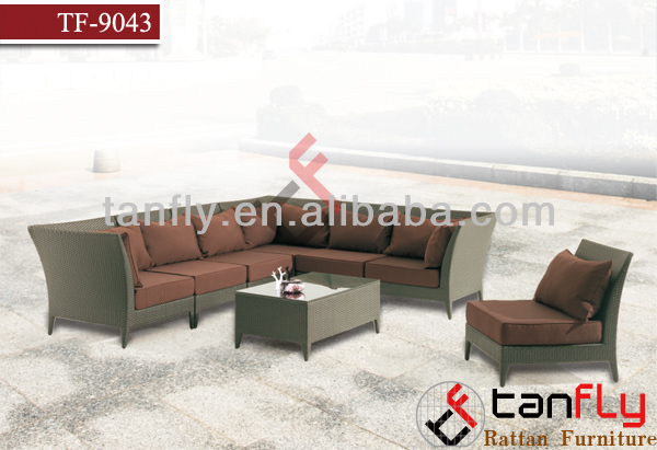 living room furniture purple recliner luxury rattan sofa set