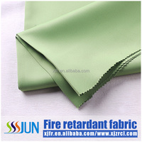 2015 100% Polyester Fashion High Quality Woven Printed Blackout fire retardant Curtain Fabric