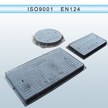 High quality C250 D400 E600 F900 square manhole cover