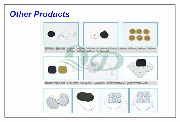 Dia 16mm conductive adhesive gel pads durable tens electrode pad, electrode pad supplier