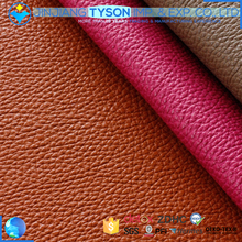 Wholesale pu synthetic embossed microfiber leather for sofa making