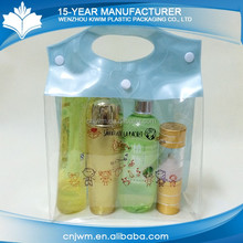 Wholesale factory direct gift bag waterproof transparent pvc clear pouch