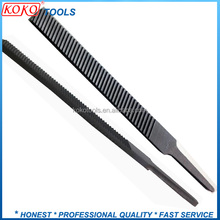 "6"" Milled double face straight tooth tang DS brake hardness steel file"