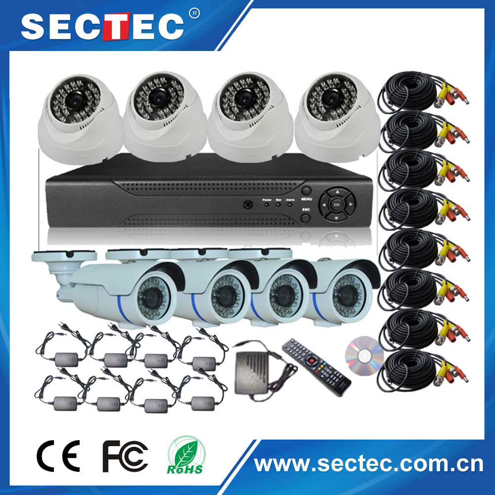dome camera specification,wifi ip camera with nvr kits sony CCD 700tvl 36IR video outdoor camera CCTV system mobile surveillance