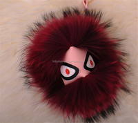 fur monster bag charm/fur monster case for for iphone 5 5s/fur monster ball accessories