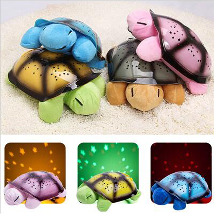 Musical Turtle Led Night Light mini led projector Child Toy Song Music Lighting Baby Sleep Light