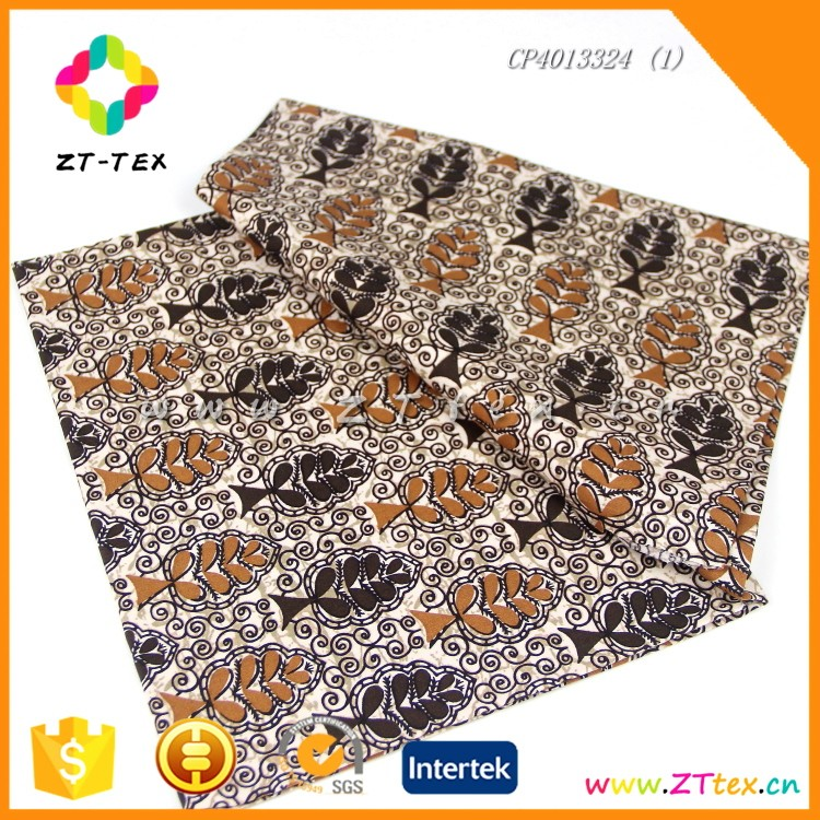 Cheap natural cotton polyester mixed fr fabric