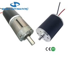 38mm Sintered NdFeB Magnet Brush DC Motor, Small Size Big Torque, Low Noise