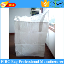 Yantai factory price polypropylene pp woven big used fibc bags