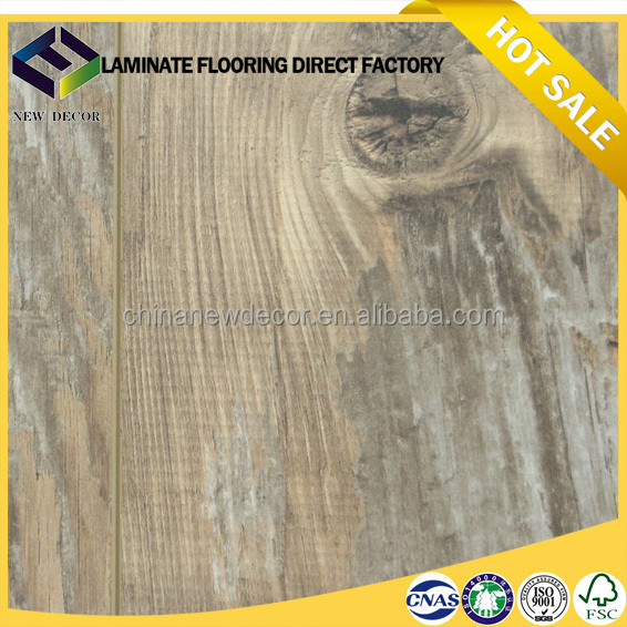 8mm 12mm crystal wooden ac4 laminate flooring factory in china