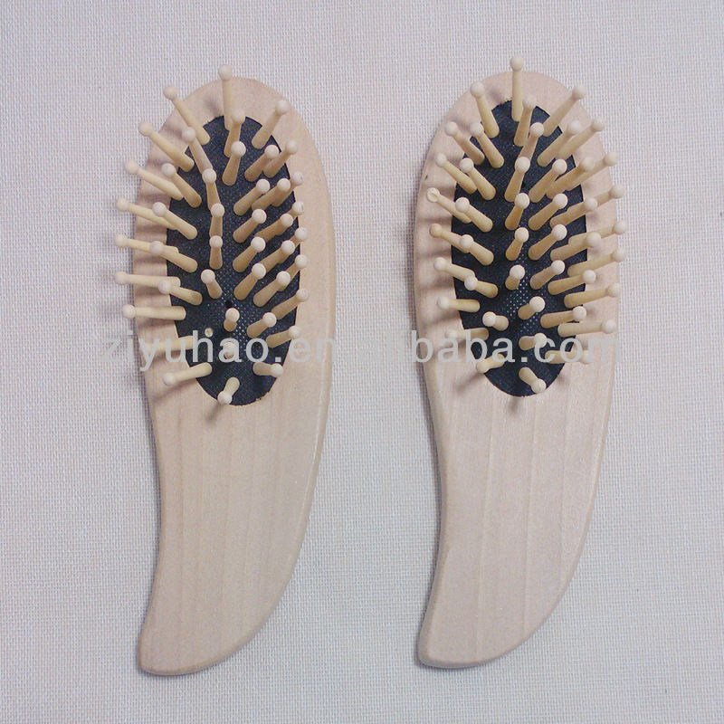 Promotional wooden moustache comb,hand made wood comb