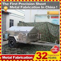 2014 hot sell fiberglass cargo trailer,china manufacturer with oem service