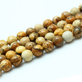 Reliable Factory Wholesale Picture Jasper Loose Stone Natural Gemstone Beads